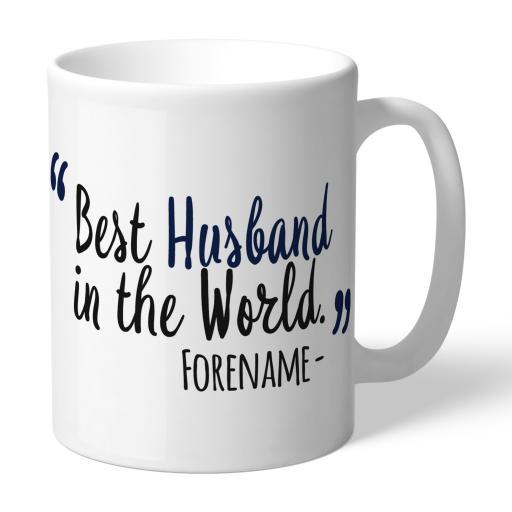 Tottenham Hotspur Best Husband In The World Mug