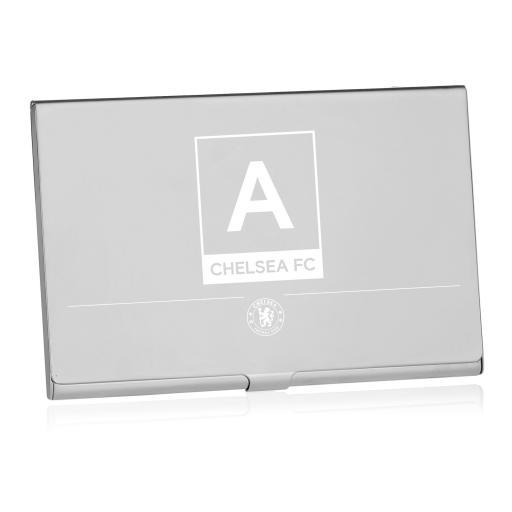 Chelsea FC Monogram Business Card Holder
