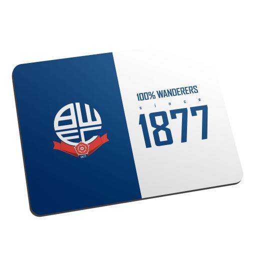Bolton Wanderers FC 100 Percent Mouse Mat