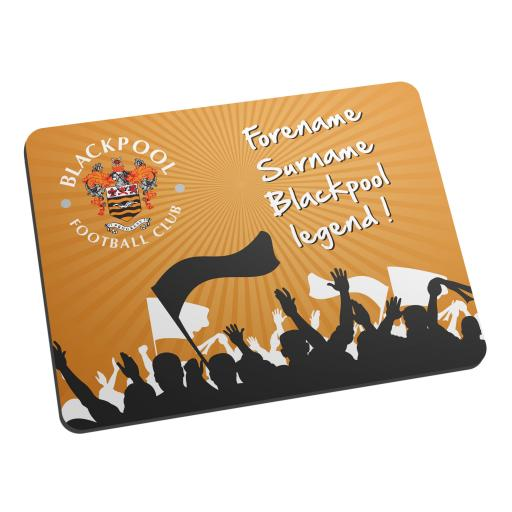 Blackpool FC Legend Mouse Mat