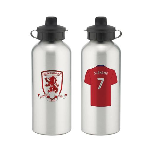 Middlesbrough FC Aluminium Water Bottle