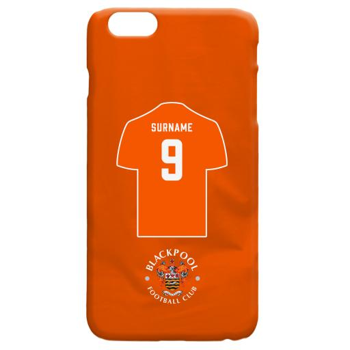 Blackpool FC Shirt Hard Back Phone Case