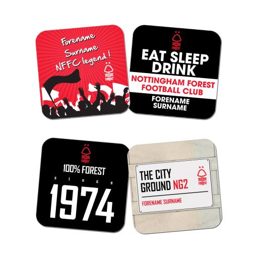 Nottingham Forest FC Coasters