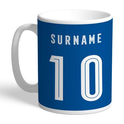 Birmingham City Retro Shirt Mug