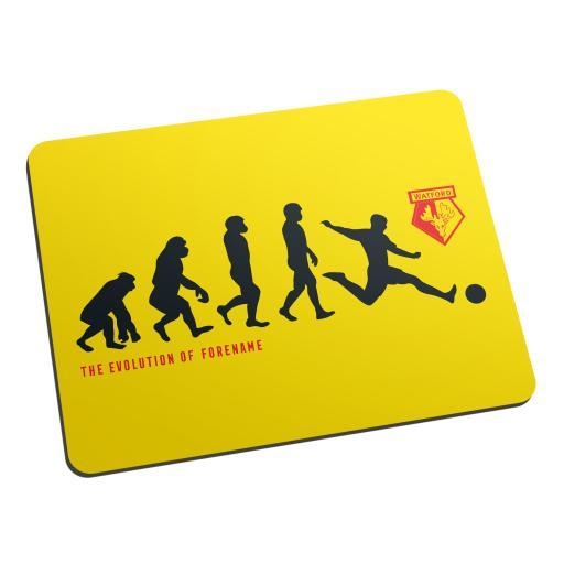 Watford FC Evolution Mouse Mat