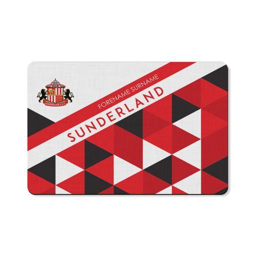 Sunderland AFC Patterned Floor Mat
