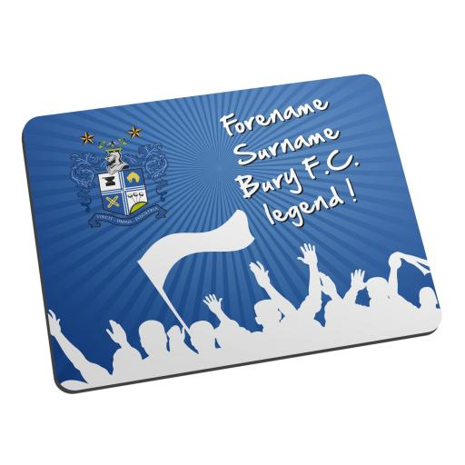 Bury FC Legend Mouse Mat