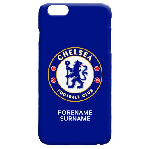 Chelsea FC Bold Crest Hard Back Phone Case