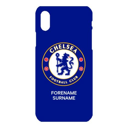 Chelsea FC Bold Crest iPhone X Phone Case