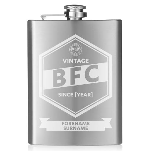 Brentford FC Vintage Hip Flask