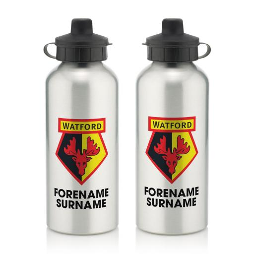 Watford FC Bold Crest Water Bottle