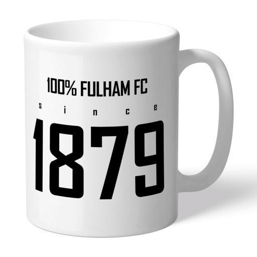 Fulham FC 100 Percent Mug