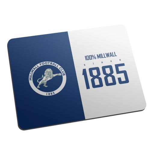 Personalised Millwall FC 100 Percent Mouse Mat.