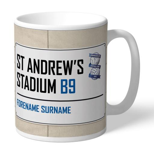 Birmingham City FC Street Sign Mug