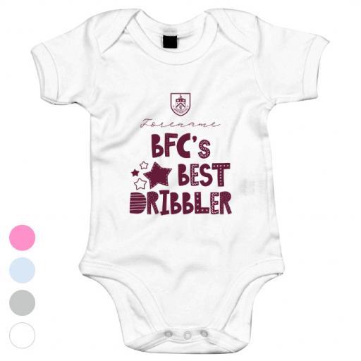 Burnley FC Best Dribbler Baby Bodysuit