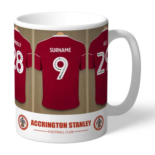 Accrington Stanley FC Dressing Room Mug