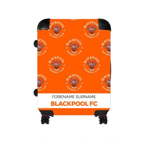 Personalised Blackpool Mini Crest Medium Suitcase.