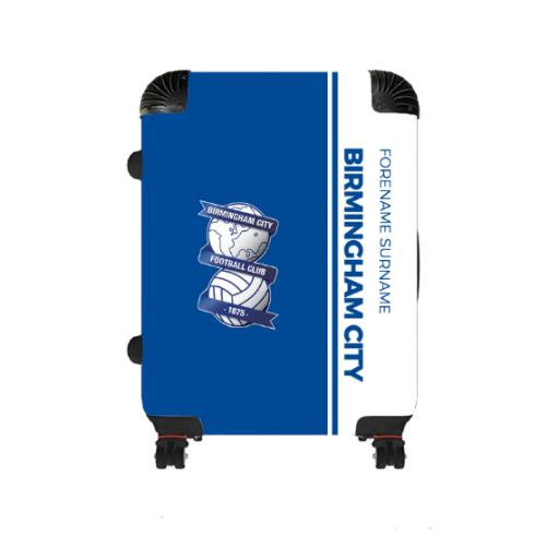 Personalised Birmingham City Crest Medium Suitcase.