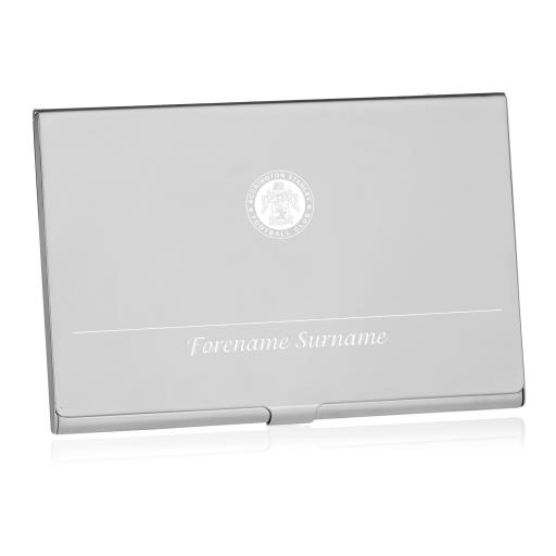 Accrington Stanley Executive Business Card Holder