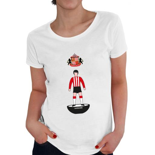 Sunderland AFC Player Figure Ladies T-Shirt
