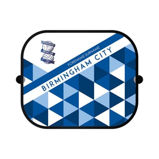 Birmingham City FC Patterned Car Sunshade