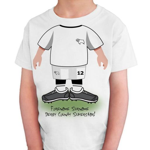 Derby County Kids Use Your Head T-Shirt