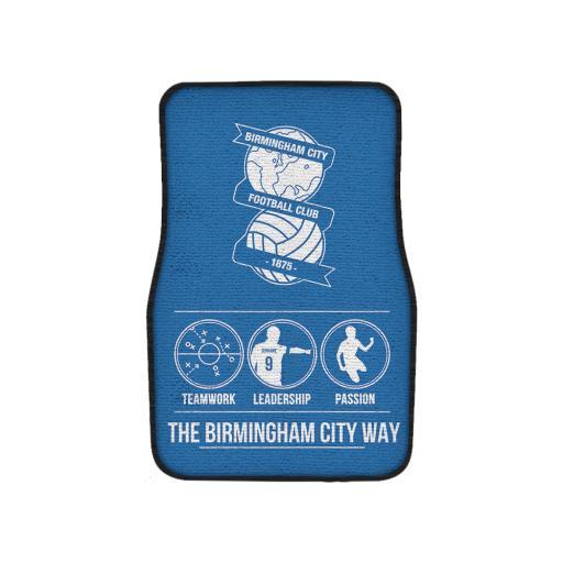 Birmingham City FC Way Front Car Mat