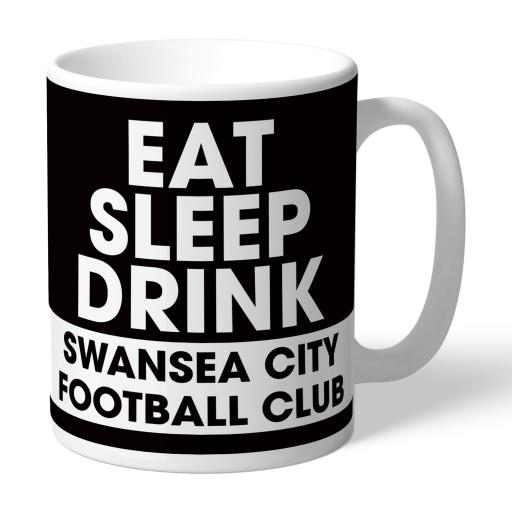 Swansea City AFC Eat Sleep Drink Mug
