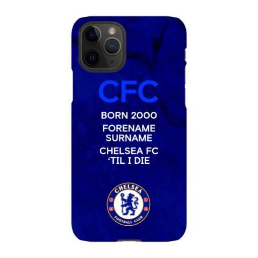 Chelsea FC 'Til I Die iPhone 11 Pro Phone Case