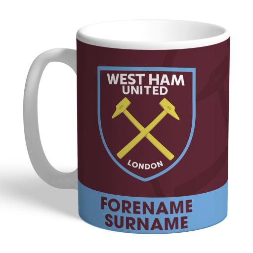 West Ham United FC Bold Crest Mug