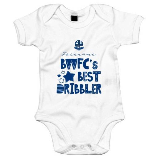 Bolton Wanderers FC Best Dribbler Baby Bodysuit