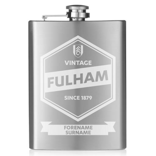 Fulham FC Vintage Hip Flask