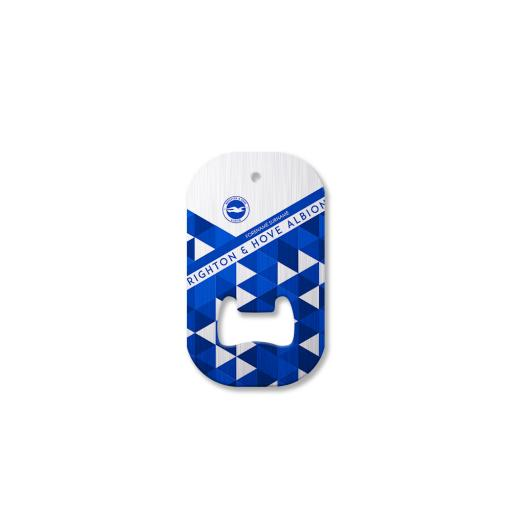 Brighton & Hove Albion FC Patterned Compact Bottle Opener
