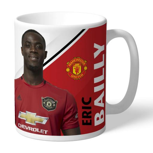 Manchester United FC Bailly Autograph Mug