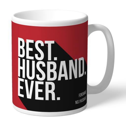 Personalised Middlesbrough Best Husband Ever Mug.