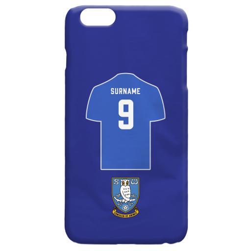 Sheffield Wednesday FC Shirt Hard Back Phone Case