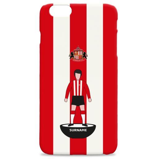 Sunderland Player Figure Hard Back Phone Case