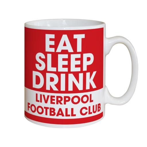Liverpool FC Eat Sleep Drink Mug