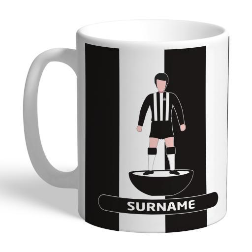 Newcastle United FC Player Figure Mug