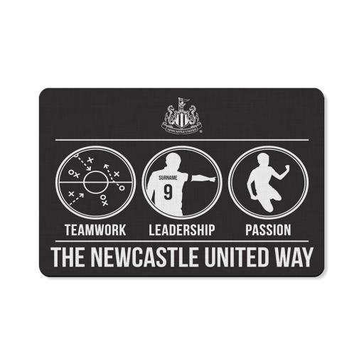 Newcastle United FC Way Floor Mat