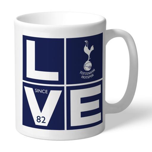 Tottenham Hotspur Love Mug