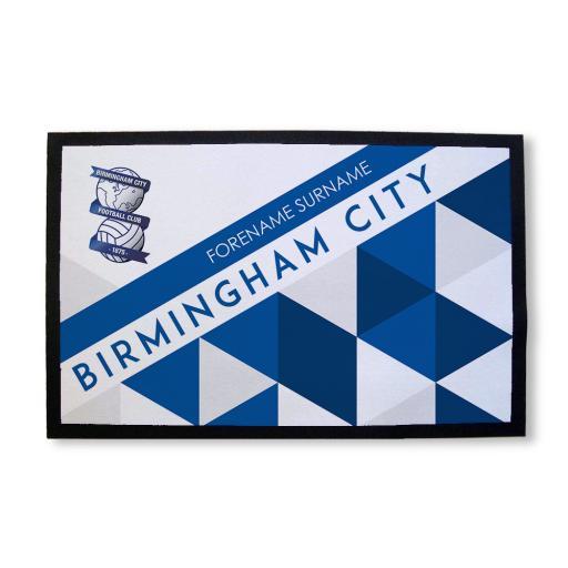 Birmingham City FC Patterned Door Mat