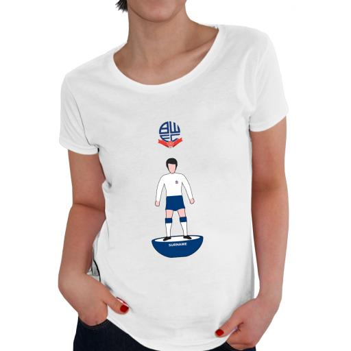 Bolton Wanderers Player Figure Ladies T-Shirt