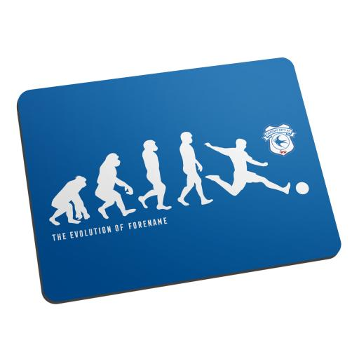 Cardiff City Evolution Mouse Mat