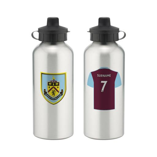 Burnley FC Aluminium Water Bottle