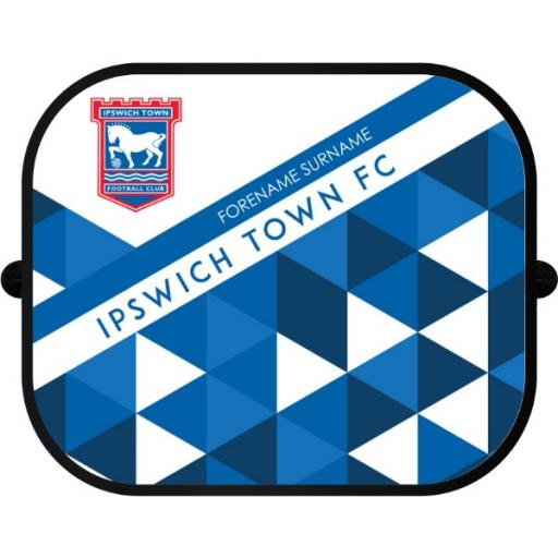 Ipswich Town FC Patterned Car Sunshade