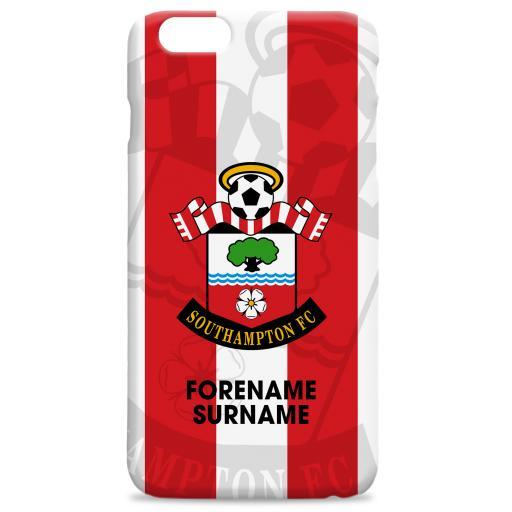 Southampton FC Bold Crest Hard Back Phone Case