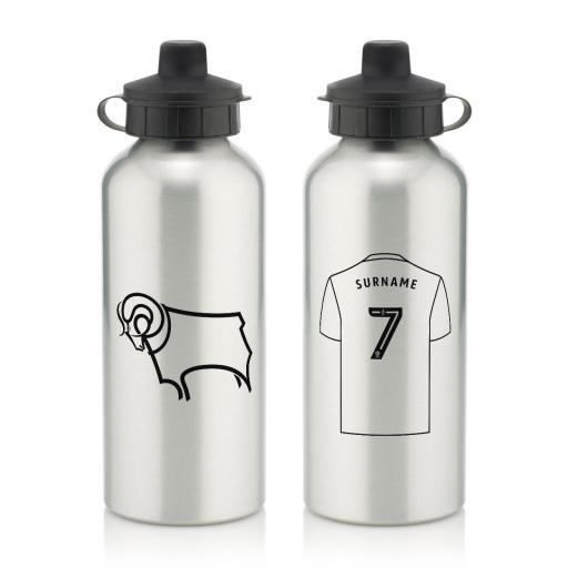 Derby County Aluminium Water Bottle