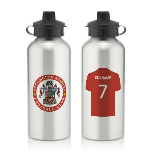Accrington Stanley Aluminium Water Bottle