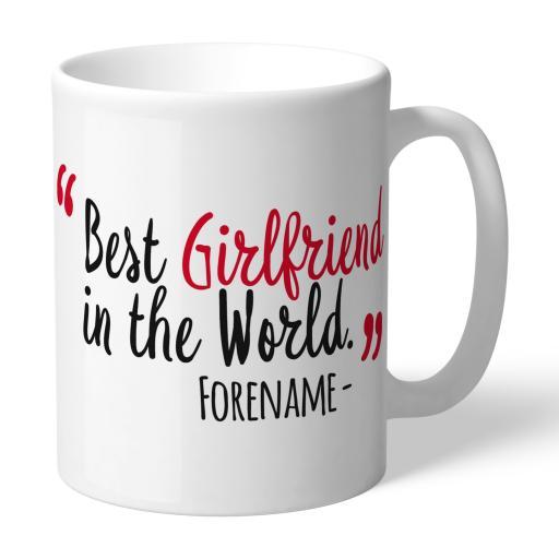 Watford FC Best Girlfriend In The World Mug